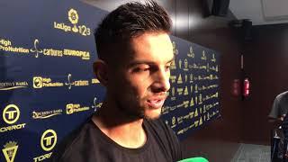 Marcos Mauro tras Cádiz-Alcorcón (27-08-17)