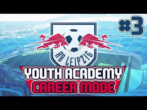 Red Bull Leipzig Youth Academy FIFA 16 Career Mode - Episode 3