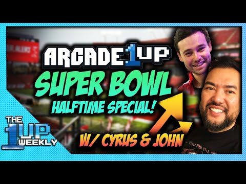The 1up Weekly - Arcade1up Super Bowl Halftime Special from The1upWeekly
