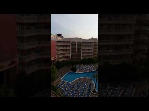 Dorada Palace Hotel   Salou 16 10 2016   Hotel Balkon View