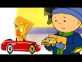 Funny Animated cartoon | Caillou learns to race | WATCH CARTOON ONLINE | Cartoon for Children
