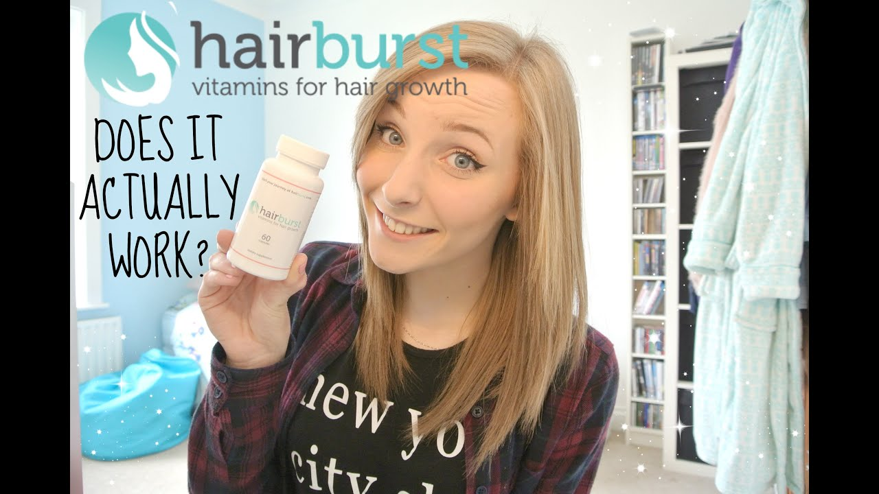 Does HairBurst Really Work? | justmollie - YouTube