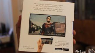 Unboxing Chromecast - فتح صندوق كروم كاست من جوجل
