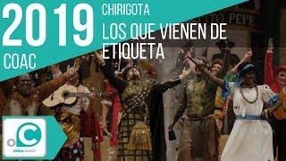 Chirigota, Los que vienen de etiqueta - Preliminar