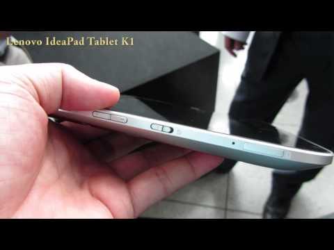Lenovo IdeaPad Tablet K1 Video clips