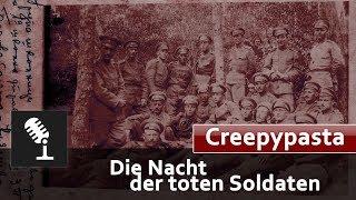 Cover images 🎧 Er legte seinen Kopf auf den Tisch.. - Die Nacht der toten Soldaten - #Creepypasta Deutsch/German