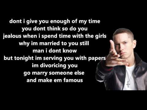 25 To Life  Eminem  Lyrics On Screen HD