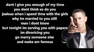 25 To Life - Eminem // Lyrics On Screen [HD]