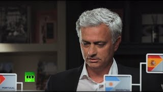 José Mourinho: Inside the crystal foot-ball. Predictions for World Cup 2018 Quarter and Semi-finals