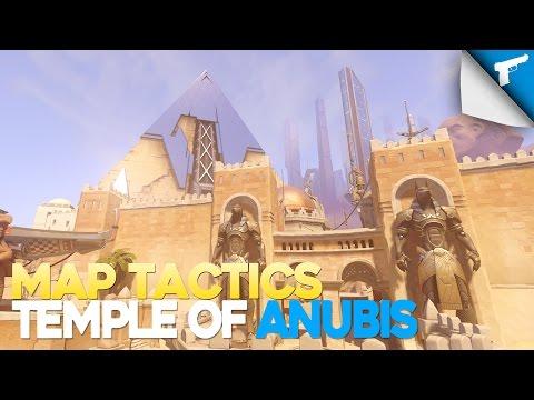 Overwatch | Attacker Tactics • Temple of Anubis [Noob Tips]