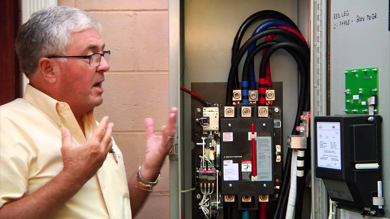 Anatomy Of An Automatic Transfer Switch Asco Youtube Switches Wiring Diagram