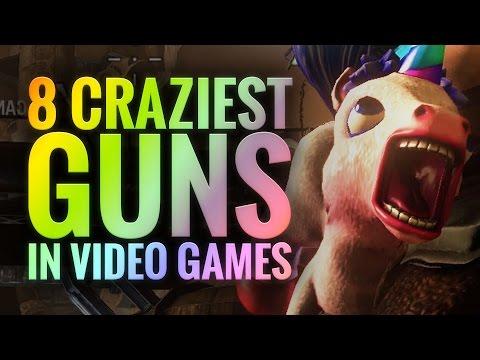8 Craziest Guns In Video Games