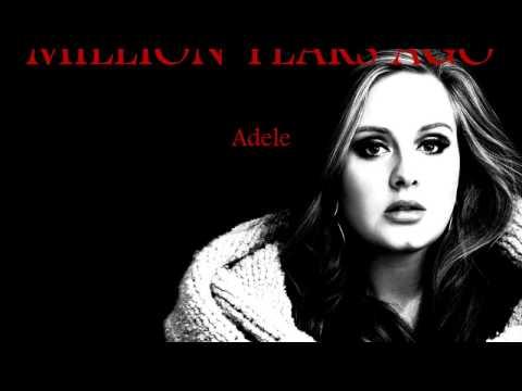Adele - Million years ago lyrics (live acoustic version)