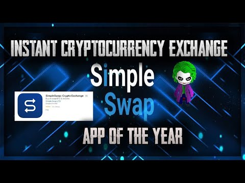 THE CRYPTO EXCHANGE WITH THE SOLUTIONS?!  | APP OF THE YEAR?! | CRYPTO JOKER REVIEWS SIMPLE SWAP!!