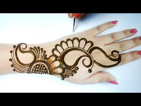 New Eid 2020 Special Mehndi Desig from Floral & Shading - अरेबिक मेहँदी लगाना सीखे| Simple Mehandi