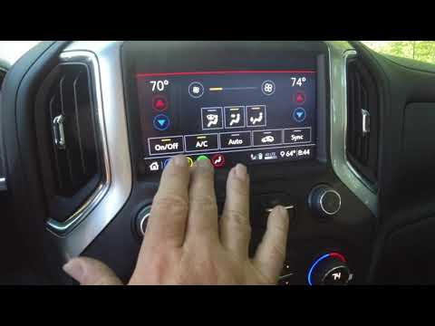 2020 Chevy Silveardo Dash Display