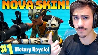 I BOUGHT THE VENTURA SKIN AND I KILLED A LOT! SOLO Fortnite: Battle Royale
