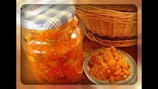 Салат из баклажанов и кабачков на зиму