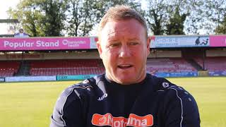 York City 1-1 Southport | Steve Watson Post-Match