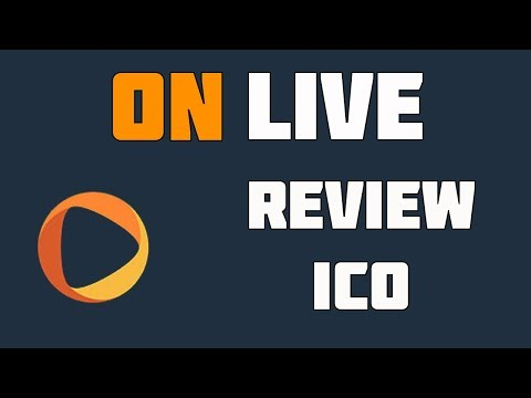 OnLive ICO Review - Marketplace for Paid Advice, Live Broadcasts & Computing Power