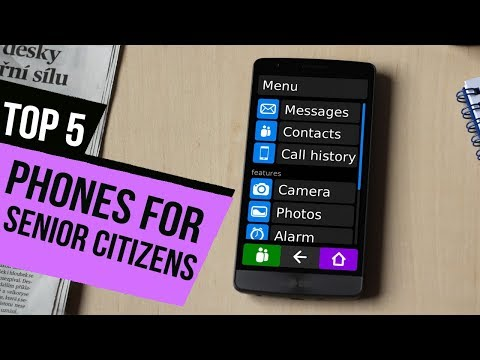 TOP 5: Phones For Senior Citizens 2018