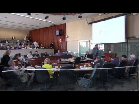 Hamilton City Council Special Meeting LRT // Staff Presentation & Council Debate // March 28, 2017