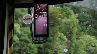 Digital Rearview Mirrors: SmartVision Rearview Camera trial on Singapore bus