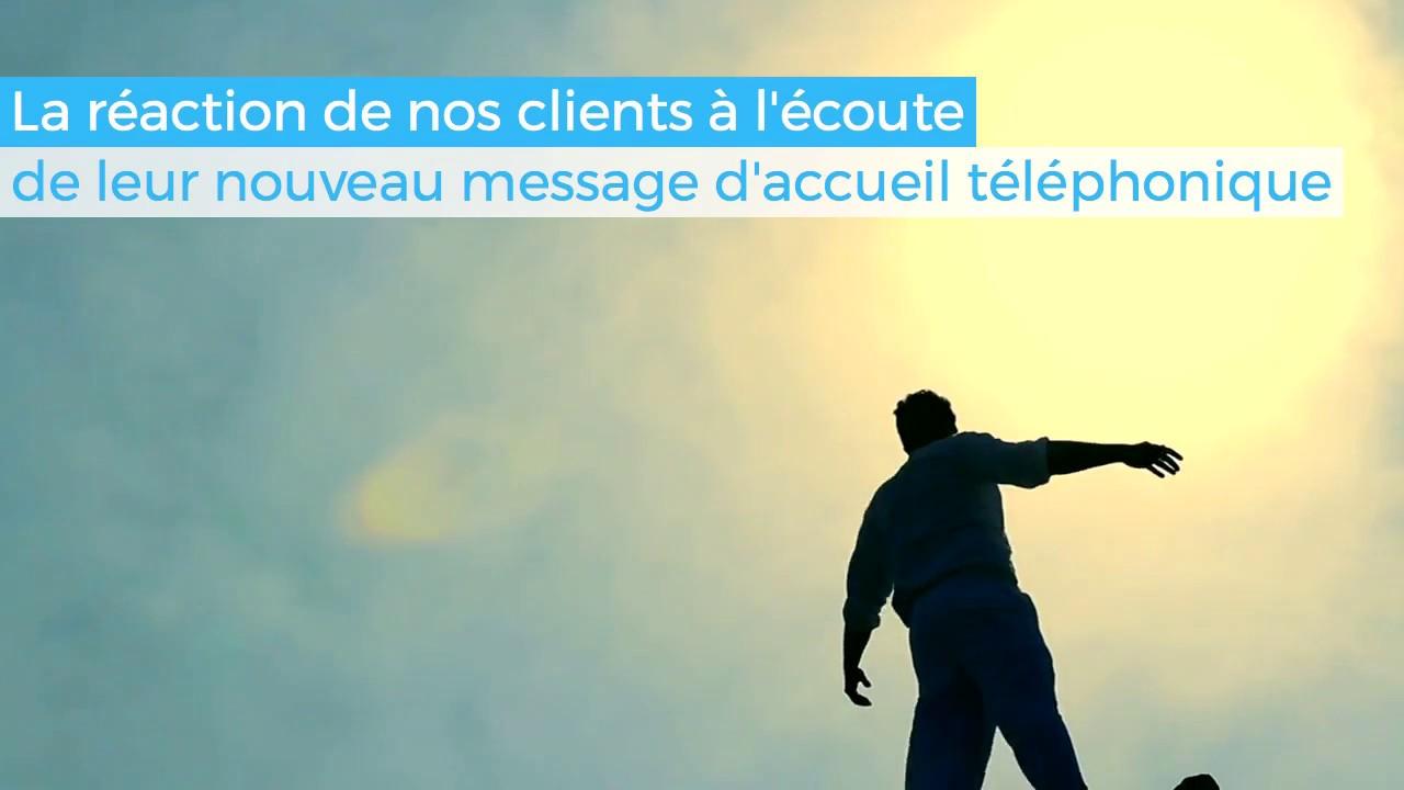 Message D Accueil Telephonique Professionnel Youtube