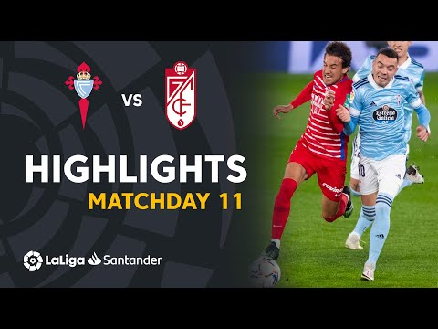 Celta Vigo Granada Goals And Highlights