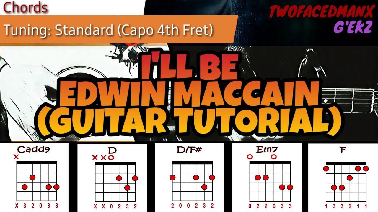 Edwin McCain   I'll Be Guitar Tutorial
