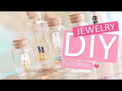 DIY Tutorial - Cadeauverpakking wensflesjes - Zelf sieraden maken