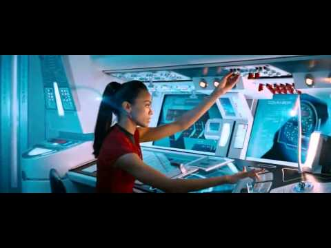 Star Trek Into Darkness - Warp Battle Scene [USS Vengeance attacks USS Enterprise [HD] poster