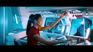 Star Trek Into Darkness - Warp Battle Scene [USS Vengeance attacks USS Enterprise [HD]