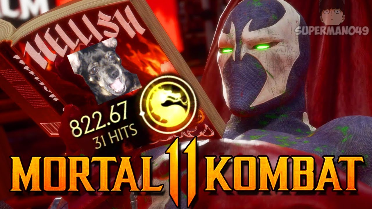 "I FINALLY Got The 80% SPAWN Combo! - Mortal Kombat 11: ""Spawn"" Gameplay"