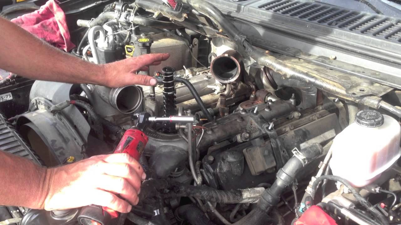 6 0 powerstroke engine diagram egr bulletproof egr cooler with ford oil cooler. 6.0 ...
