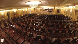 High Holy Days 2014   Set Up Time Lapse   Park Avenue Synagogue HD