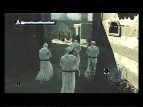 Assassin's Creed, Career 116, Jerusalem, Rich District, Informant Target (fail)