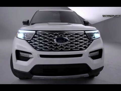 2020 Ford Explorer Platinum Interior and Exterior