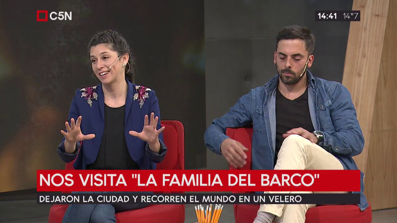 "TardeXTRA: Entrevista a ""la familia del barco"""