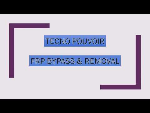 How to Bypass & Remove FRP on Tecno Pouvoir 2 (LA7) 100%  New Method