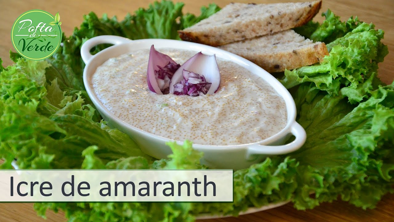 amaranth retete raw