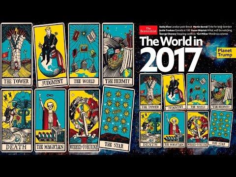 THE ECONOMIST EL MUNDO EN 2017 SINIESTRAS PREDICCIONES EN CARTAS DEL TAROT
