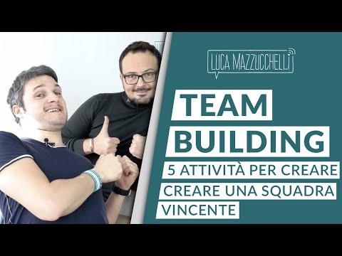 Team building: 5 attività per creare una squadra vincente