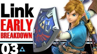 LINK SMASH BROS ULTIMATE - Character Breakdown (Early Impressions)