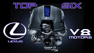 The Top 6 Lexus V8s of All Time