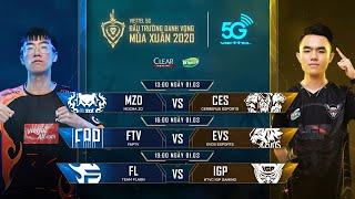 MZD vs CES   FTV vs EVS   FL vs IGP [01.03.2020] - Viettel 5G ĐTDV mùa Xuân 2020