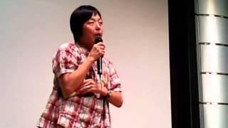 六ヶ所村通信NO.4上映後に、鎌仲監督にお話しいただきました。