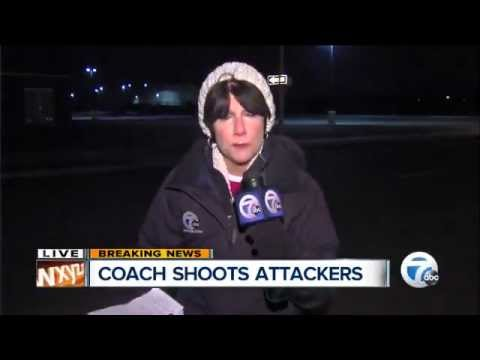 70 Year Old Detroit High School Basketball Coach Defends Students, Shoots Attackers