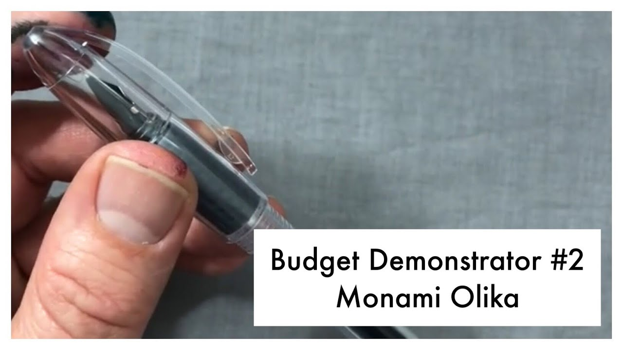 Download Monami Olika - Budget Demonstrator Fountain Pen Review #2