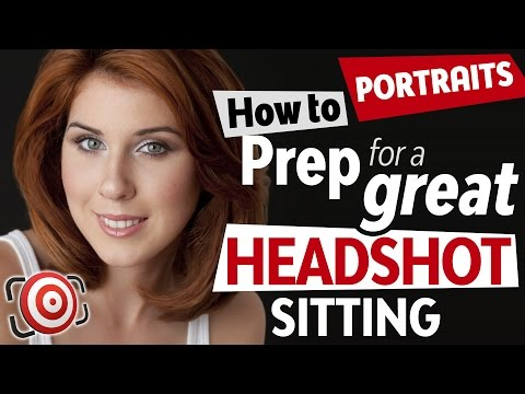 How to Plan a Portrait or Headshot Shoot Step-by-Step - Portrait Photography Tutorial